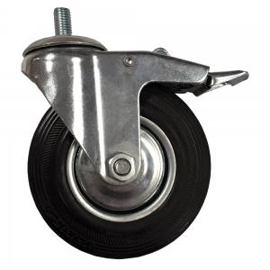 Caster Wheel with Brake (Mini)