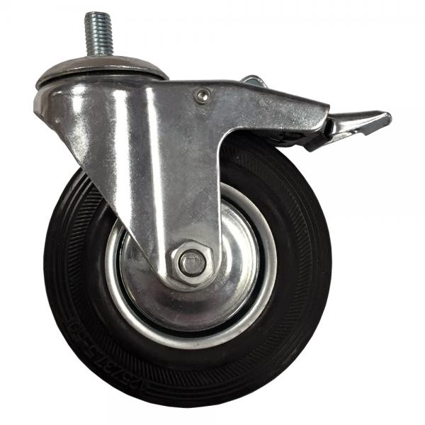 Caster Wheel with Brake (Mini)