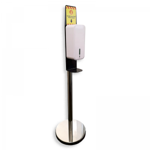 Chrome Stand & Hands-Free Dispenser 1500ml