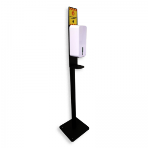 Barrier Rope Stand with Hands-Free Dispenser 1500ml